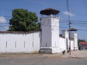 Lookout post at the Fortaleza