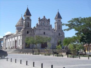 Iglesia Guadalupe, near the lake