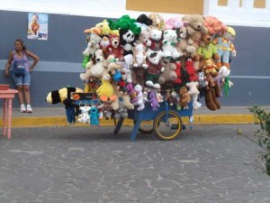 A cart full of toys