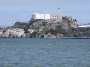 Alcatraz, as seen from Pier 39